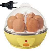 Electric Egg Boiler Cooker with EU PLUG - Cooks up to 7 eggs hard or soft boiled