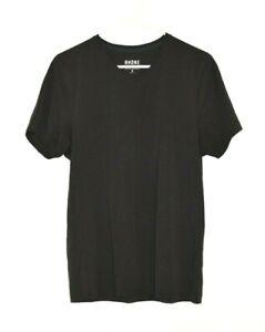 Rhone Black Activewear Short Sleeve V Neck Tee T-Shirt Size Medium