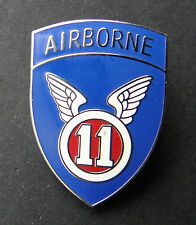 US ARMY 11TH AIRBORNE DIVISION LAPEL PIN BADGE 7/8 INCH
