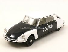 CITRON DS 19 POLICE DE PARIS 1960 - 1/43 VITESSE