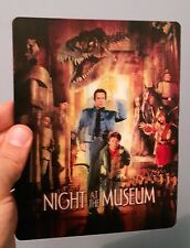 Night at the Museum 3D lenticular cover Flip effect for Steelbook