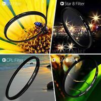 Andoer 67mm UV+CPL+Close-Up+4 +Star 8-Point Filter Circular Kit for Pentax Sony
