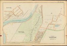 1888 MONROE COUNTY NEW YORK ROCHESTER MOUNT HOPE CEMETERY COPY PLAT ATLAS MAP