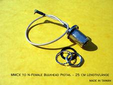 MMCX en N-Female Bulkhead/femelle pigtail wlan