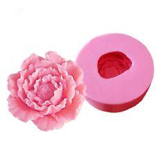 Flower Peony Silicone Soap Molds Sugarcraft Cake Decorating Fondant Mold