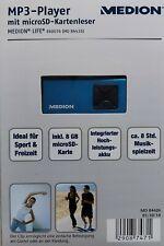 Medion MP3 Player Farbe Blau 8 GB