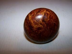 Antique Vintage Bennington Marble Swirl Porcelain Door Knob