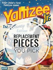 Yahtzee Jr. Disney Edition Replacement Pieces - You Choose What You Need