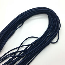 5yds Navy blue Trong Elastic Bungee Rope Shock Cord Tie Down DIY Jewelry Making