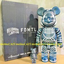 Bearbrick Medicom 2018 Billionaire Boys Club x FDMTL 100% 400% Be@rbrick