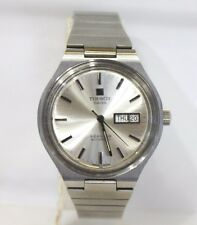 Vintage Tissot Seastar Automatic Day Date Men's  Wrist Watch