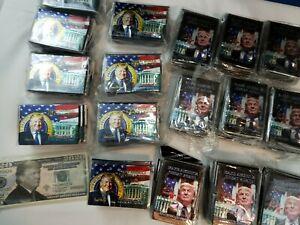 HUGE LOT/200 MAGA White House President Donald Trump 2020 Magnet & 20 BUCKS