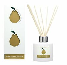 Wax Lyrical Kitchen Garden Spiced PEAR and Nutmeg Reed Diffuser 100ml