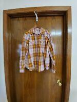 Wrangler Women's Size XL Western  Plaid Pearl Snap Button Shirt
