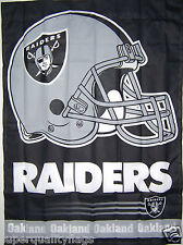 New listing 27X37 New Oakland Raiders Banner With Flag Pole Sleeve Made Usa nfl au