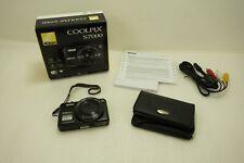 Nikon Coolpix S7000 16.0 MP 20X Zoom Wide Optical Digital Camera MISSING AC (C)