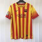 BARCELONA FC Kids Away Football Shirt Top 2013-2014, Size 13-15 Years 158-170cm
