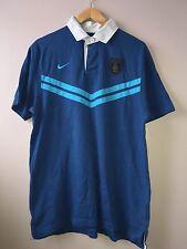 Nike Men's Polo Top Size L Blue<NH43