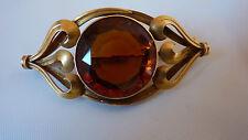 Art Nouveau 14kt Pin Brooch