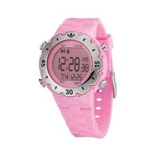 Adidas Originals Pink Rubber Digital Watch Y3 JS ADH2014