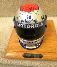 MICHAEL ANDRETTI VINTAGE Bell Helmet Scale 1:2  MOTOROLA CART INDY 500 DRIVER