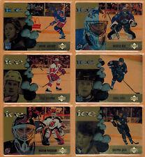 1998-99 , UPPER DECK , (McDONALDS) , ICE , COMPLETE SET , 1/28