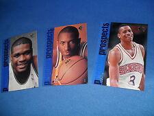 KOBE BRYANT (RC) #127, 134 & 141 -(3) 1996-97 UPPER DECK SP NBA BASKETBALL CARDS