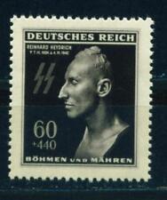 Germany WW2 Reinhard Heydrich Death Mask stamp 1944 MLH