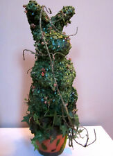 "Katherine's Collection~21"" IVY-MOSS Rabbit-Bunny~Artificial Topiary Plant-Tree"