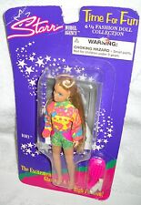 #5929 NRFC Vintage Jakks Pacific JPI Starr Model Agency Time For Fun Dawn Doll
