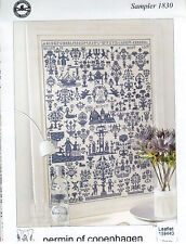 Sampler 1830 - Permin of Copenhagen Cross Stitch New Chart