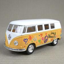 1962 Volkswagen 1:32 Scale Die-cast Kombi Combi Microbus Hippy Camper Van Yellow