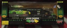John Deere Nascar 1998 Limited Edition Transporter with Stock Car 97 Chad Little