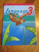 Abeka LANGUAGE 3 Test Key