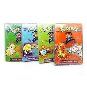 Pokemon Theme Deck, sealed 4 boxes, Wizards Of The Coast collection, Base Set 2