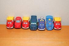 Hasbro Tonka Chuck & Friends - Soft Rubber Cars Trucks  Train- Lot of 7