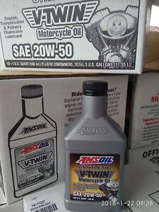 AMSoil MCV 20w50 [ MCVQT-EA ]  V-Twin [ 5 quarts ]