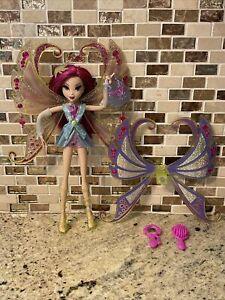 Winx Club Mattel Glam Magic Enchantix Tecna Doll