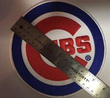 "World Series Chicago Cubs Emblem Patch Jersey MLB Home Logo 7"" size"