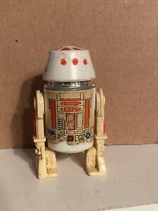 Star Wars Vintage R5-D4 Droid Action Figure Red Bar Variant 1978 Some Wear Read