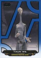 Star Wars Galactic Files Reborn Blue Parallel Base Card AOTC-14 Taun We