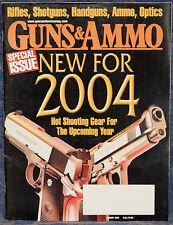 Magazine GUNS & AMMO Jan 2004 SAVAGE Model 30G Stevens Favorite, MOSSBERG 935