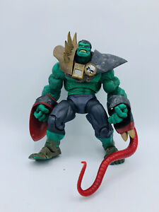 "Toybiz The Incredible Hulk Classics War Hulk 7"" Action Figure Some Accessories"