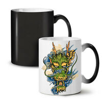 Japanese Katana Sun NEW Colour Changing Tea Coffee Mug 11 oz | Wellcoda
