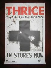 """THRICE 11x17 """"The Artist in the Ambulance"""" 2003 Promo Poster Island Def Jam"""