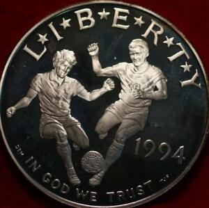 Uncirculated Proof 1994-S World Cup Silver One Dollar