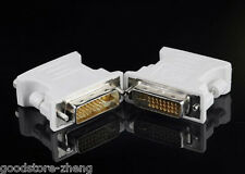 DVI-I male Analog (24+5) to VGA Female (15-pin) Connector Adapter Free Shipping