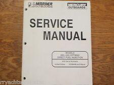 MERCURY OUTBOARD SERVICE MANUAL 200HP 225HP OPTIMAX 90-855348 ENGINE MOTOR EBAY