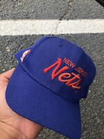 Vintage Sports Specialties New Jersey Nets Script Snapback