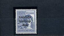 SBZ 80 Pfg. Maschinenaufdruck 1948** Aufdruckfehler 196 VI geprüft (S10253)